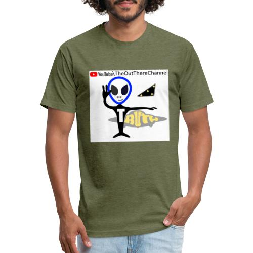 TshirtNewLogoOTchan 2 - Fitted Cotton/Poly T-Shirt by Next Level