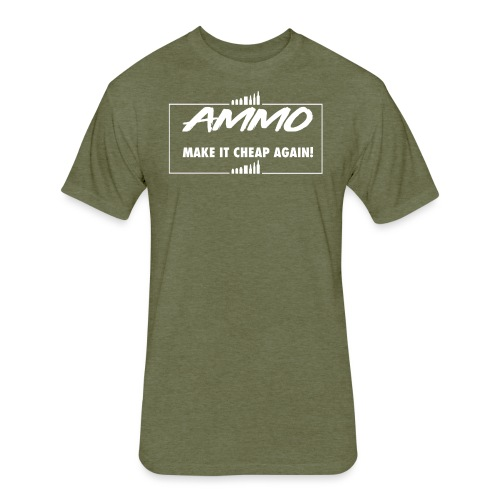 AMMO - Fitted Cotton/Poly T-Shirt by Next Level