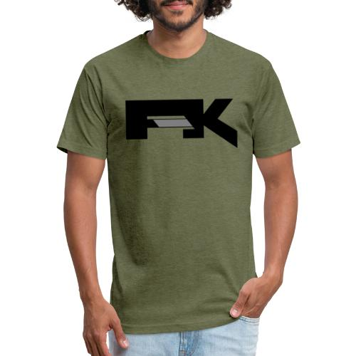Chunky Symbol - Fitted Cotton/Poly T-Shirt by Next Level