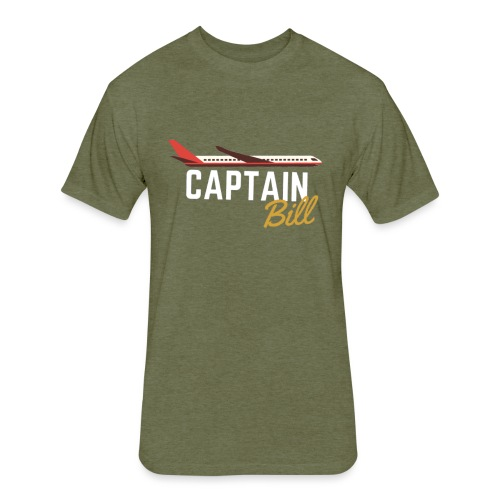 Captain Bill Avaition products - Fitted Cotton/Poly T-Shirt by Next Level