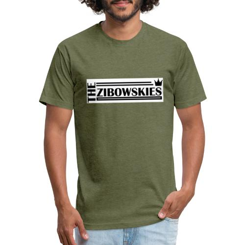 Zibowskies TM - Fitted Cotton/Poly T-Shirt by Next Level