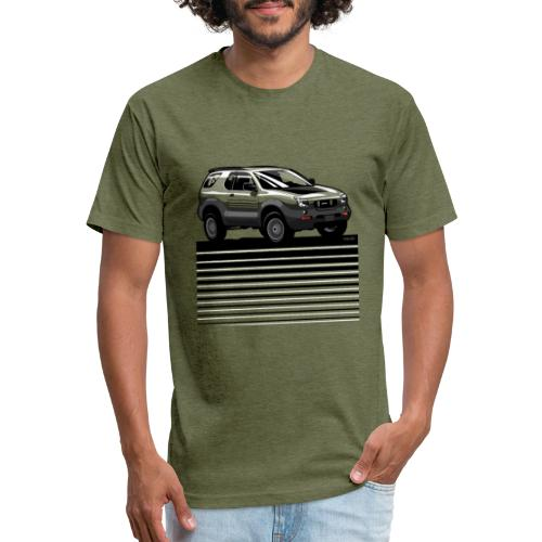 VX SUV Lines - Fitted Cotton/Poly T-Shirt by Next Level