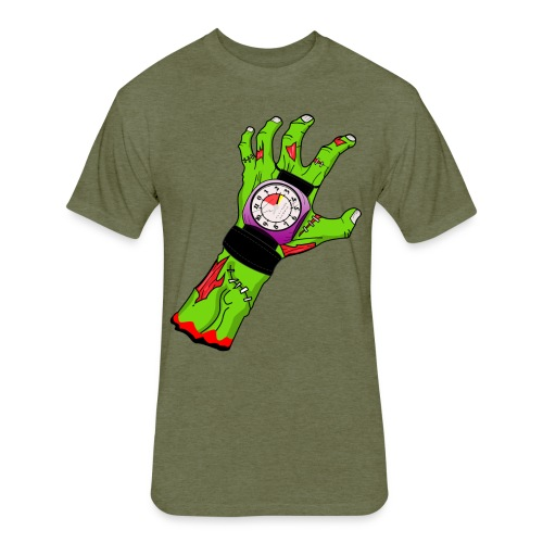 Altitude Zombie! - Fitted Cotton/Poly T-Shirt by Next Level