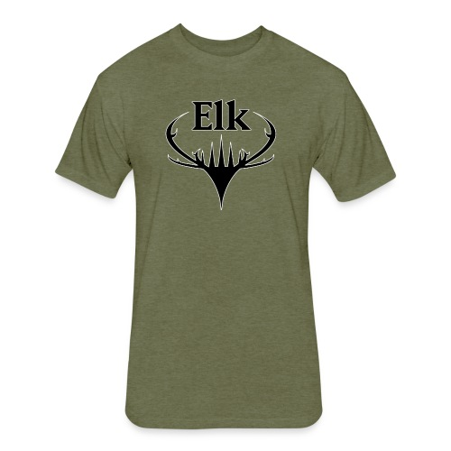 You're an Elk. - Fitted Cotton/Poly T-Shirt by Next Level