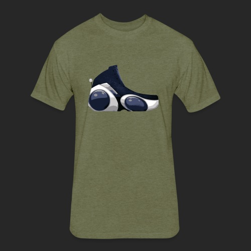 Wicked Dano Baller II Sneaker - Fitted Cotton/Poly T-Shirt by Next Level