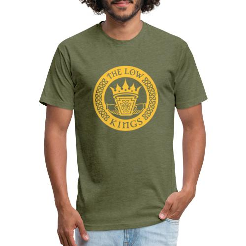 Gold logo - Fitted Cotton/Poly T-Shirt by Next Level
