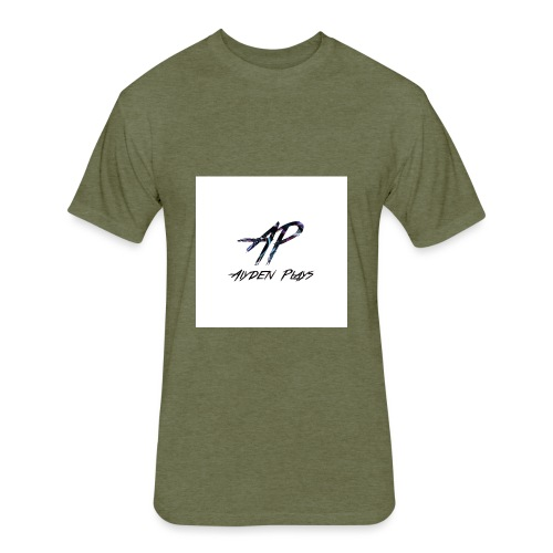 aiydenplaysmerch - Fitted Cotton/Poly T-Shirt by Next Level