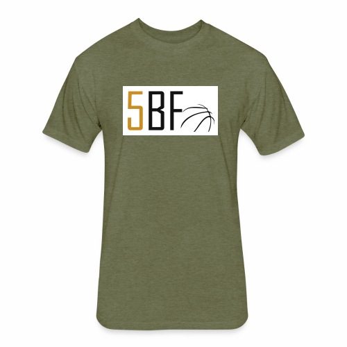 Five Ballers Friends - Fitted Cotton/Poly T-Shirt by Next Level