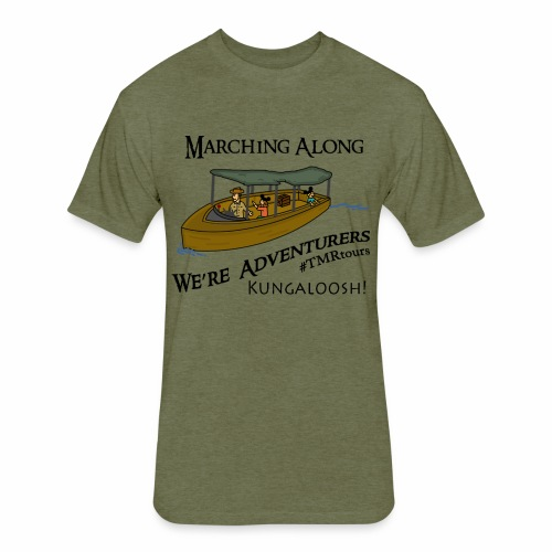 Adventure Cruise - TMR - Fitted Cotton/Poly T-Shirt by Next Level