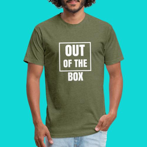Out of the Box - Fitted Cotton/Poly T-Shirt by Next Level