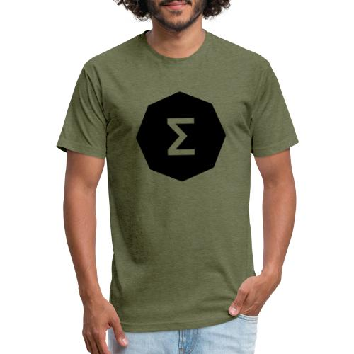 Ergo Symbol filled - Fitted Cotton/Poly T-Shirt by Next Level