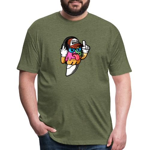 Trip - The Back Row Radio Mascot - Fitted Cotton/Poly T-Shirt by Next Level