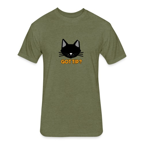 Got tip? - Fitted Cotton/Poly T-Shirt by Next Level