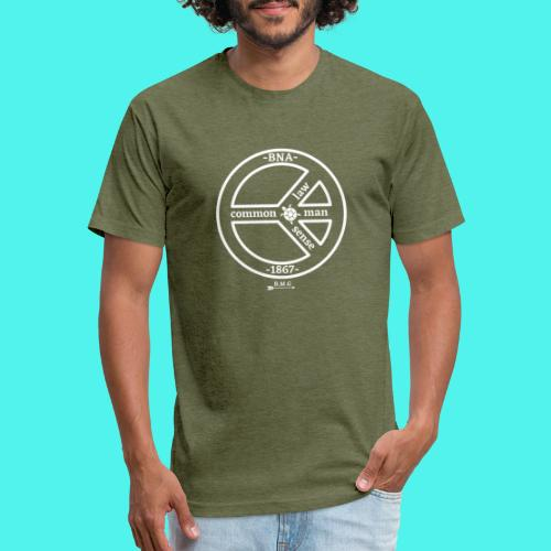 BMG Common Law Logo - Fitted Cotton/Poly T-Shirt by Next Level