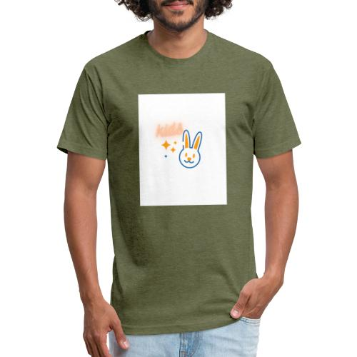 kids - Fitted Cotton/Poly T-Shirt by Next Level