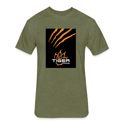 Tiger Pride iPad Case - Fitted Cotton/Poly T-Shirt by Next Level