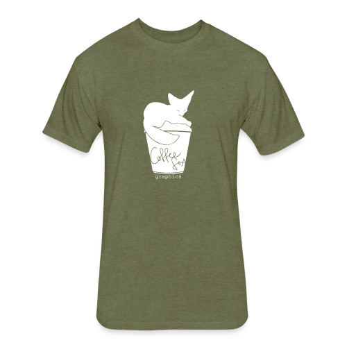 coffeefoxxii - Fitted Cotton/Poly T-Shirt by Next Level