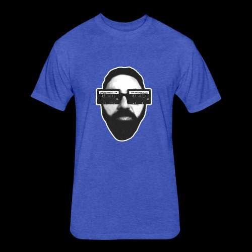 Spaceboy Music RetroVision - Fitted Cotton/Poly T-Shirt by Next Level