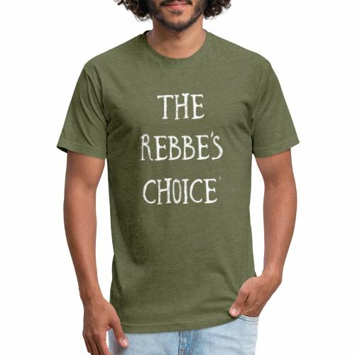 Rebbes Choice Apparel WHT - Fitted Cotton/Poly T-Shirt by Next Level