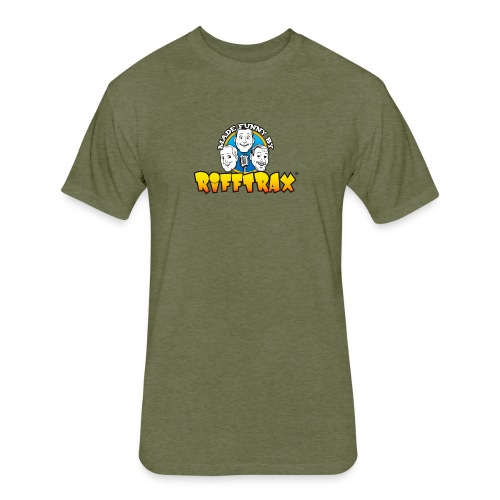 RiffTrax Made Funny By Shirt - Fitted Cotton/Poly T-Shirt by Next Level
