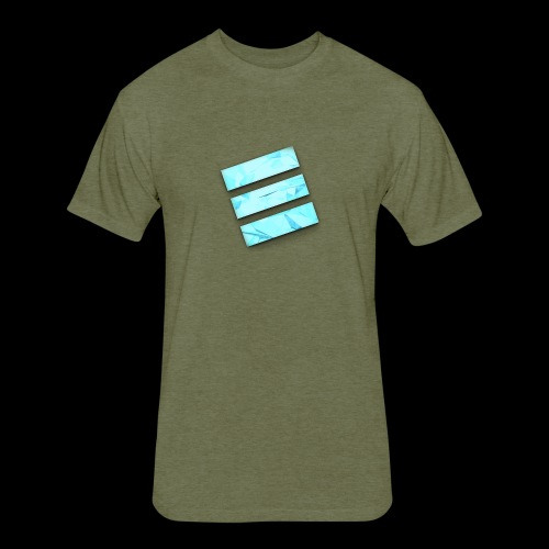 Durene logo - Fitted Cotton/Poly T-Shirt by Next Level