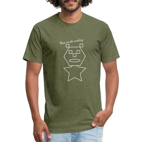 star in the making - Fitted Cotton/Poly T-Shirt by Next Level