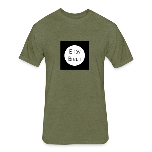 Elroy Brech - Fitted Cotton/Poly T-Shirt by Next Level