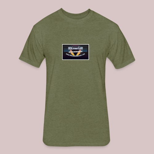 ONEmanSHOmusic.com - Fitted Cotton/Poly T-Shirt by Next Level