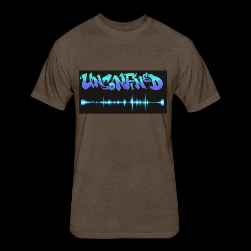 unconfined design1 - Fitted Cotton/Poly T-Shirt by Next Level