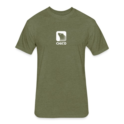 Chico's Logo with Name - Fitted Cotton/Poly T-Shirt by Next Level