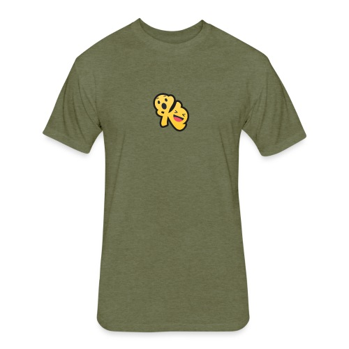 Komedy Logo Mini - Fitted Cotton/Poly T-Shirt by Next Level