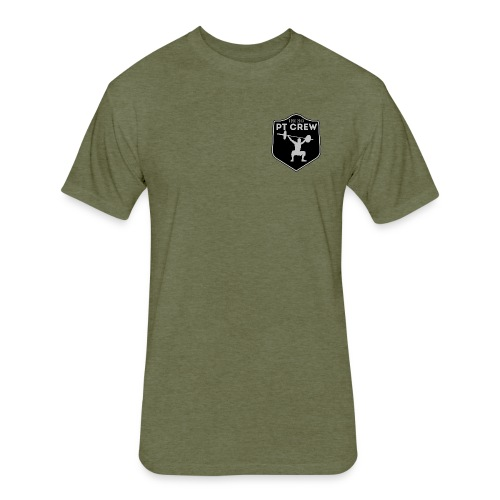 I Love Burpees - Mens - Fitted Cotton/Poly T-Shirt by Next Level