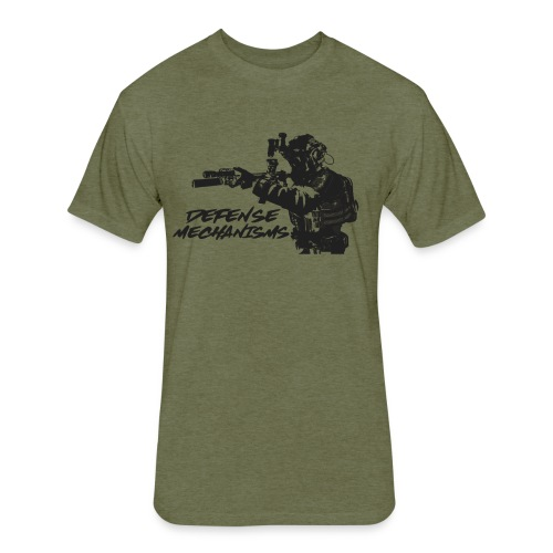 Defense Mechanisms: On Target - Fitted Cotton/Poly T-Shirt by Next Level