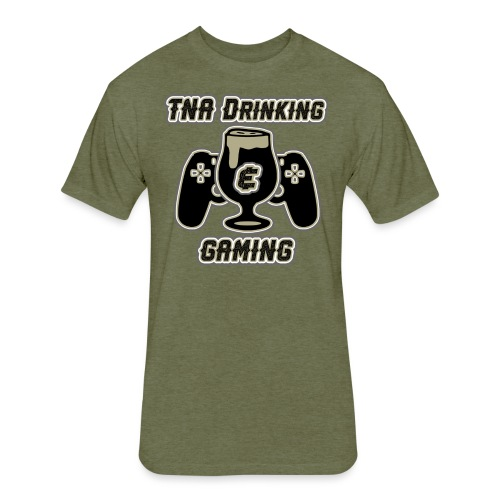 TNA Drinking & Gaming - Fitted Cotton/Poly T-Shirt by Next Level