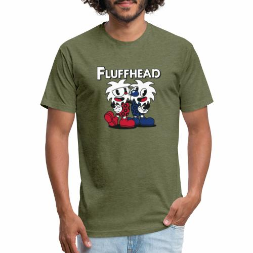 Fulffhead - Fitted Cotton/Poly T-Shirt by Next Level