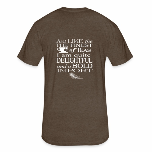 Bold Import - Fitted Cotton/Poly T-Shirt by Next Level