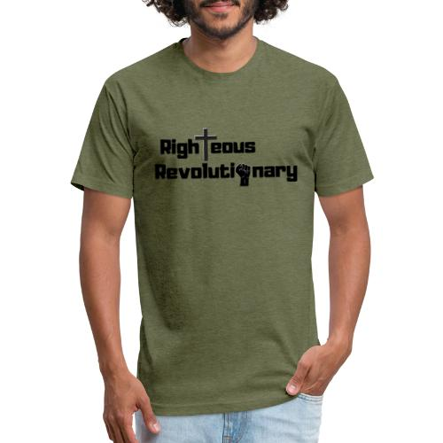 Righteous Revolutionary/Impact - Fitted Cotton/Poly T-Shirt by Next Level