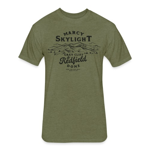 Marcy, Skylight, Gray, Cliff, & Redfield - Fitted Cotton/Poly T-Shirt by Next Level
