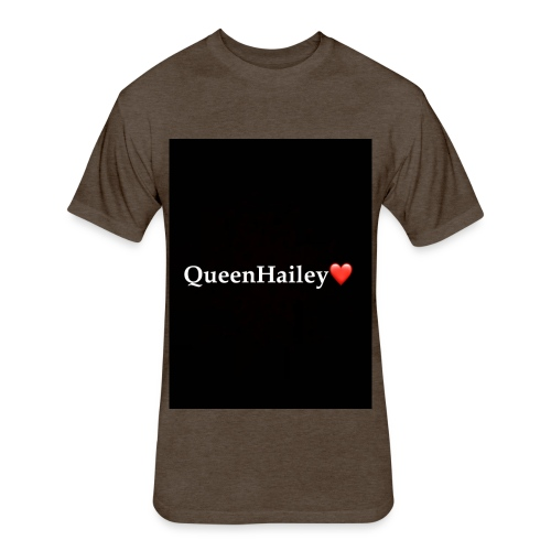 QueenHailey - Fitted Cotton/Poly T-Shirt by Next Level