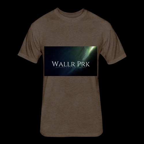 Wallr Pr 1 - Fitted Cotton/Poly T-Shirt by Next Level