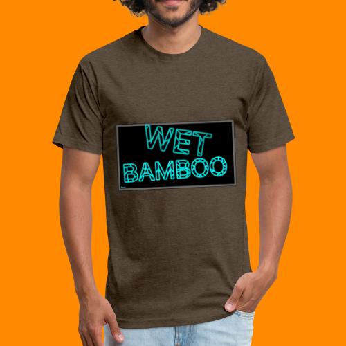 WET BAMBOO GLOWIEEE SHIRT - Fitted Cotton/Poly T-Shirt by Next Level