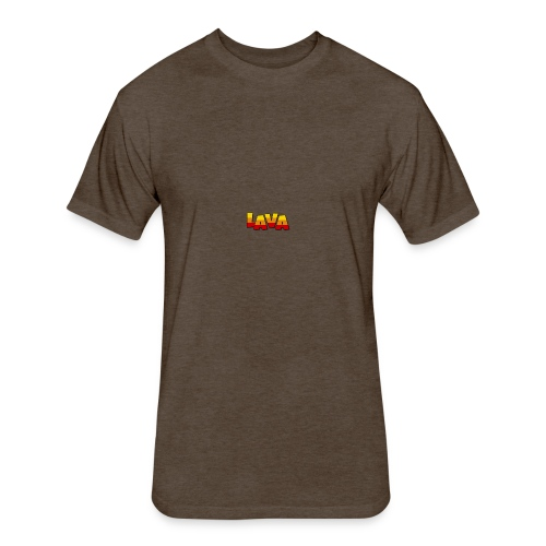 Lava - Fitted Cotton/Poly T-Shirt by Next Level