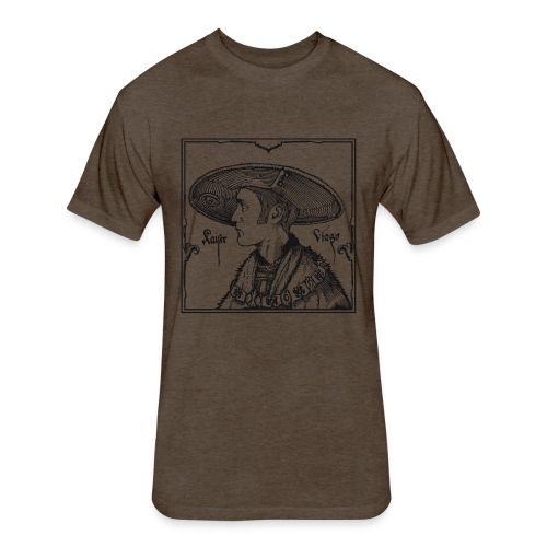 Viago - Fitted Cotton/Poly T-Shirt by Next Level