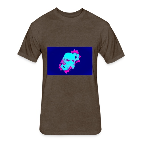 space trooper - Fitted Cotton/Poly T-Shirt by Next Level