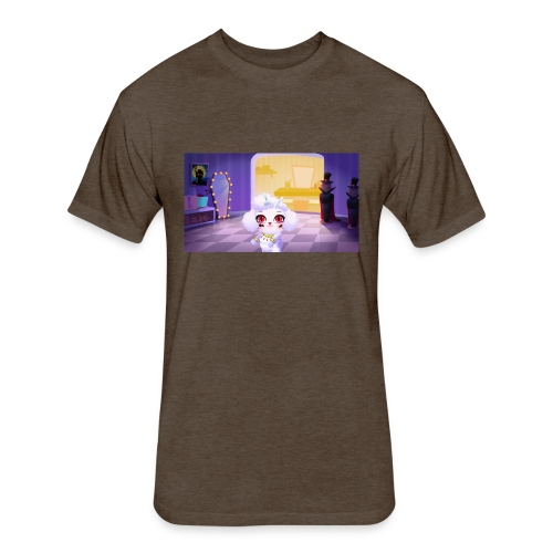 sky roblox omg - Fitted Cotton/Poly T-Shirt by Next Level