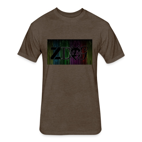 ZDOG upgraded verison - Fitted Cotton/Poly T-Shirt by Next Level