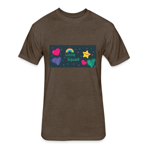 Lizzie Squad - Fitted Cotton/Poly T-Shirt by Next Level
