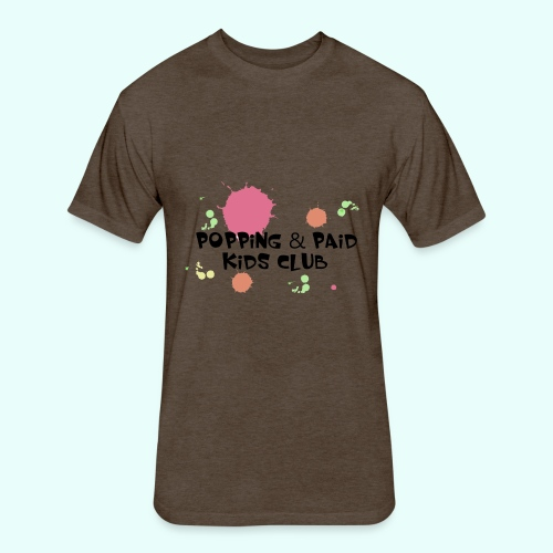 Popping & Paid Kids Club - Fitted Cotton/Poly T-Shirt by Next Level
