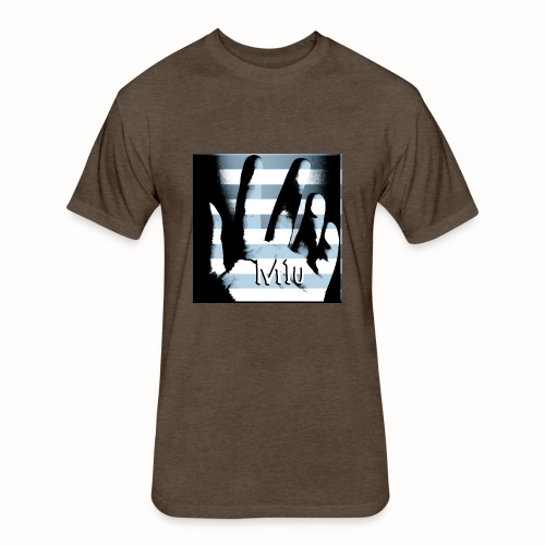 M1u and The Mason - Fitted Cotton/Poly T-Shirt by Next Level