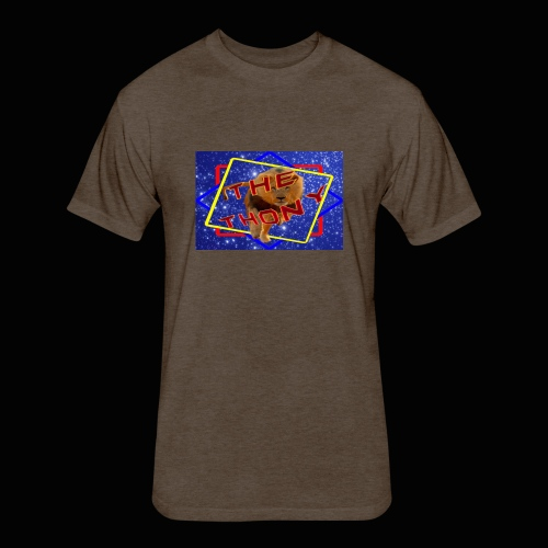 Logo thony king - Fitted Cotton/Poly T-Shirt by Next Level